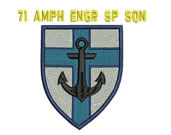 71 AMPH Engr Sp Sqn Embroidered Polo Shirt